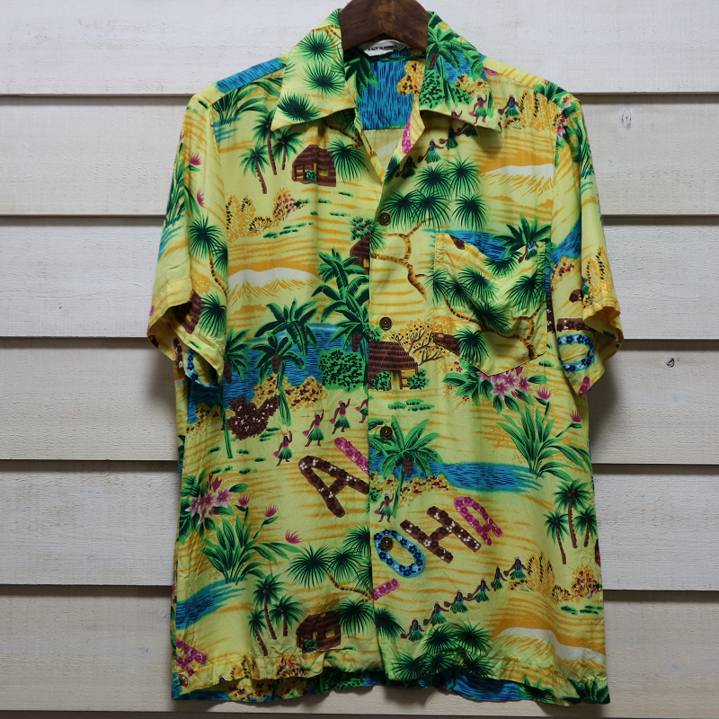 60's~ Made in Hawaii 古着 ビンテージ アロハシャツ