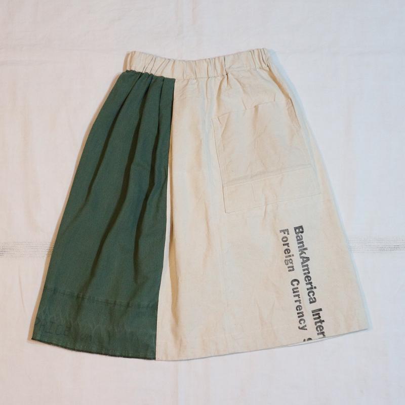 Sunny Garden × MELCHI DESIGNS ヴィンテージ Vintage Remake リメイクスカート #1
