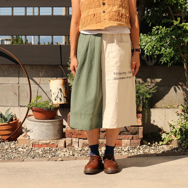 Sunny Garden × MELCHI DESIGNS ヴィンテージ Vintage Remake リメイクスカート #2