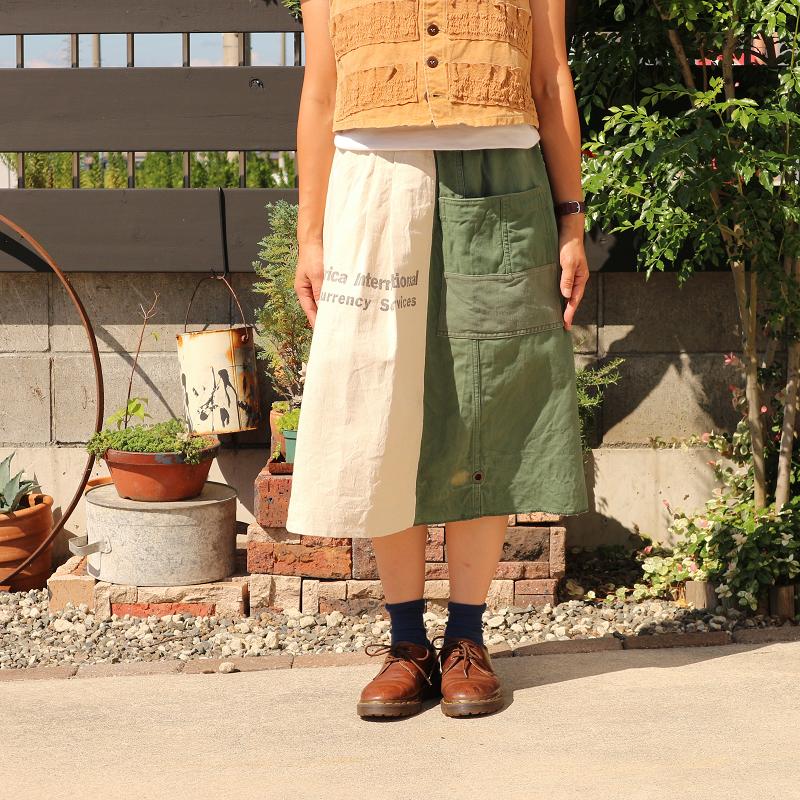 Sunny Garden × MELCHI DESIGNS ヴィンテージ Vintage Remake リメイクスカート #3