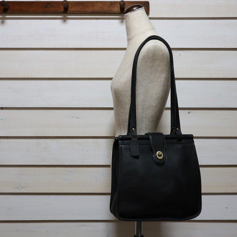 オールドコーチ OLD COACH USA製 Leather Bag ヴィンテージ 本革レザー トートバッグ