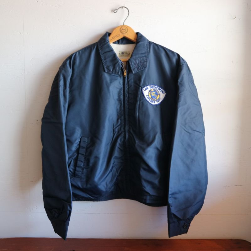 60's U.S.A. LOS ANGELES POLICE JACKET ナイロンジャケット