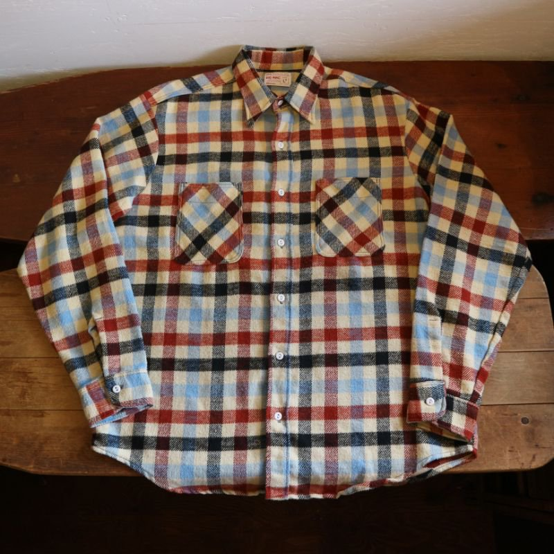 70's BIG MAC ビックマック ヘビーフランネルシャツ