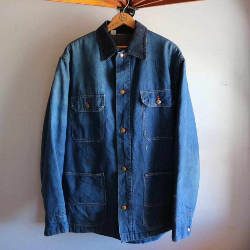 60's Unknown Vintage Railroad Jacket レイルロード カバーオール ジャケット