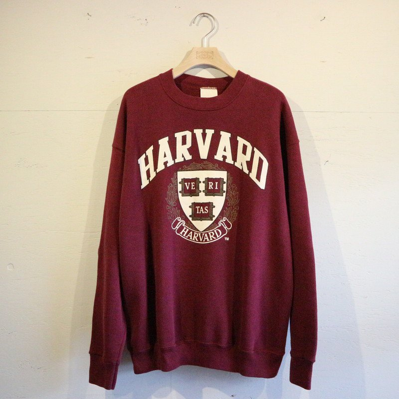 <img class='new_mark_img1' src='//img.shop-pro.jp/img/new/icons1.gif' style='border:none;display:inline;margin:0px;padding:0px;width:auto;' />80's  HARVARD UNIVERSITY スウェットトレーナー