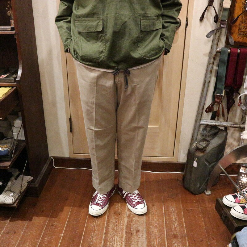 60's U.S.Military TROUSERS ヴィンテージミリタリー カーキパンツ