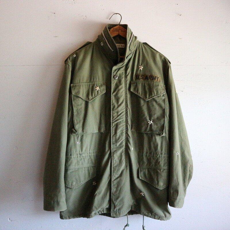 SHANANA MIL シャナナミル daisy刺繍 60's M-65 Field Jacket