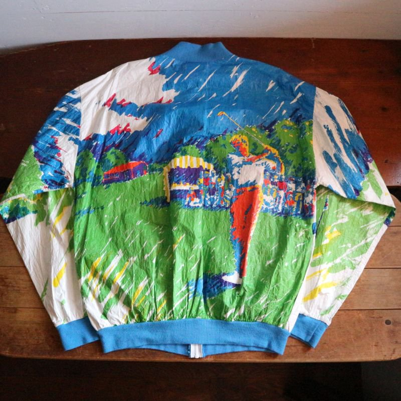 90's U.S.A. Graphic ペーパージャケット