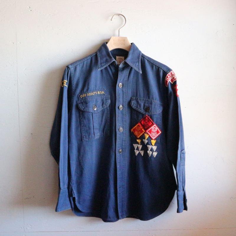 50's CUB SCOUTS B.S.A. ボーイスカウト コットンシャツ