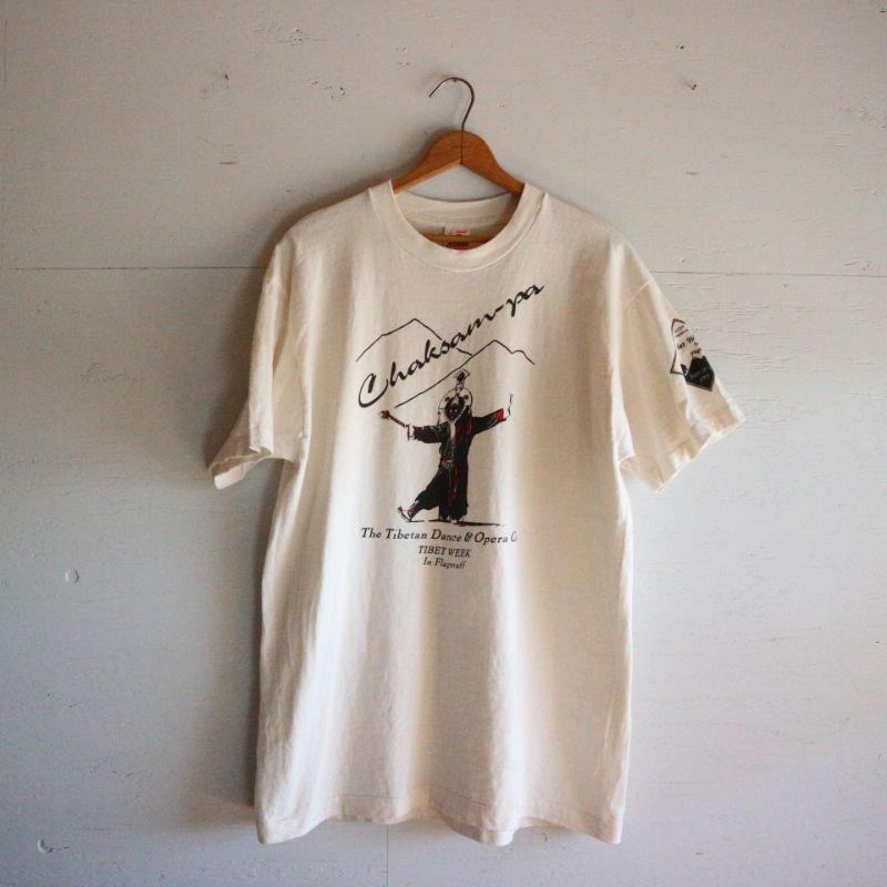 90's FRUIT OF THE LOOM フルーツオブザルーム チベット Tシャツ