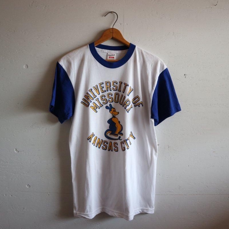 Made in U.S.A. セットインスリーブ カレッジTシャツ