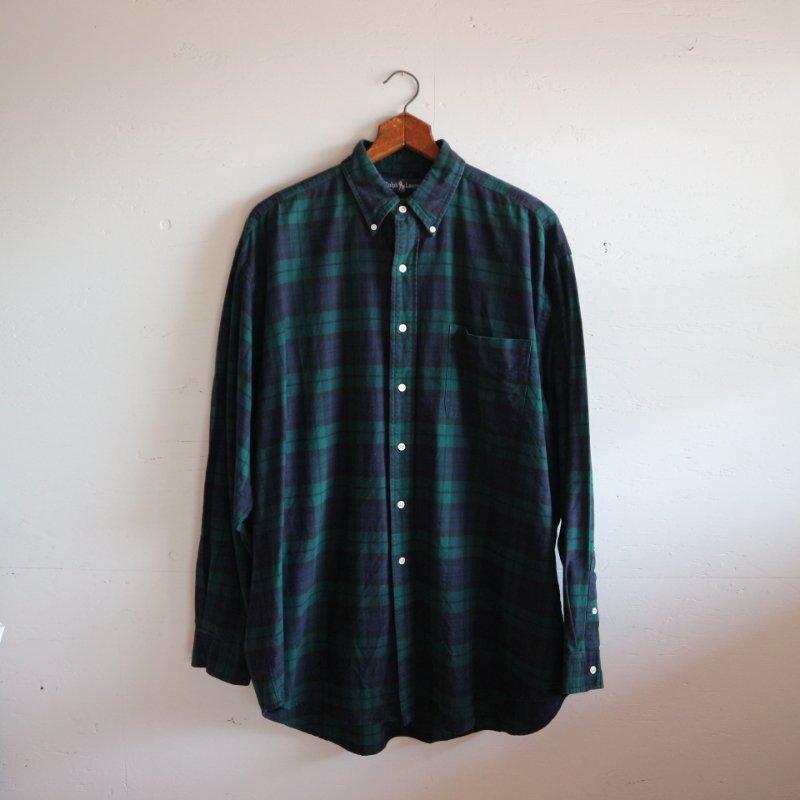 Ralph Lauren ラルフローレン ブラックウォッチ BIGシャツ