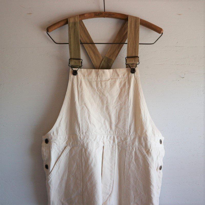 sunny garden × MELCHI DESIGNS 尾道帆布 リメイクオーバーオール size:M