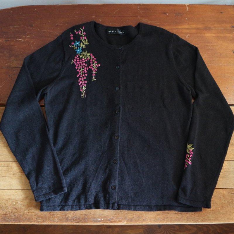 Embroidery Cardigan 手刺繍 カーディガン