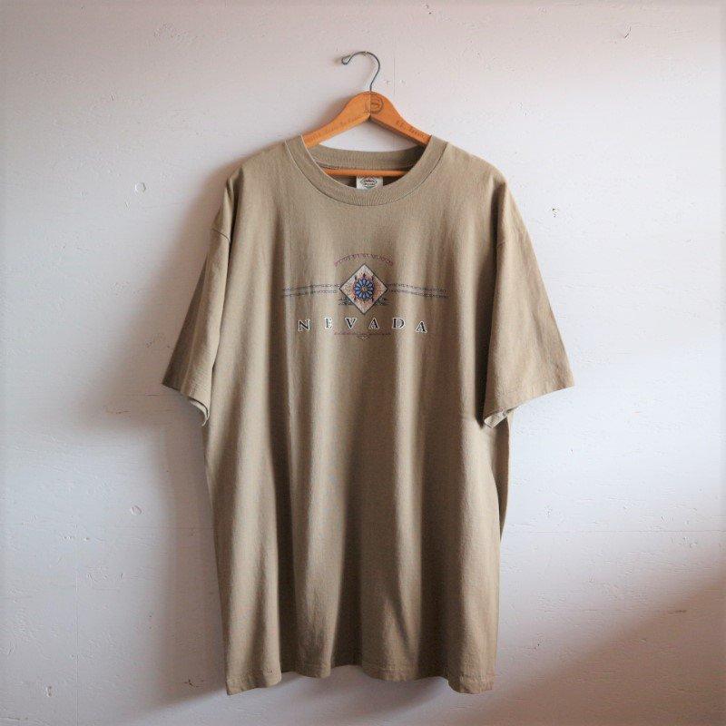 U.S.A.製 NEVADA ネバダ州 サンドカラー Tシャツ XL