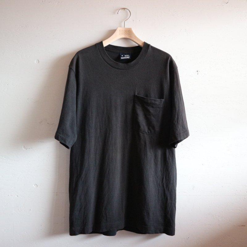 90's U.S.A.製 Pocket T-shirt 無地 5分袖 ポケT M