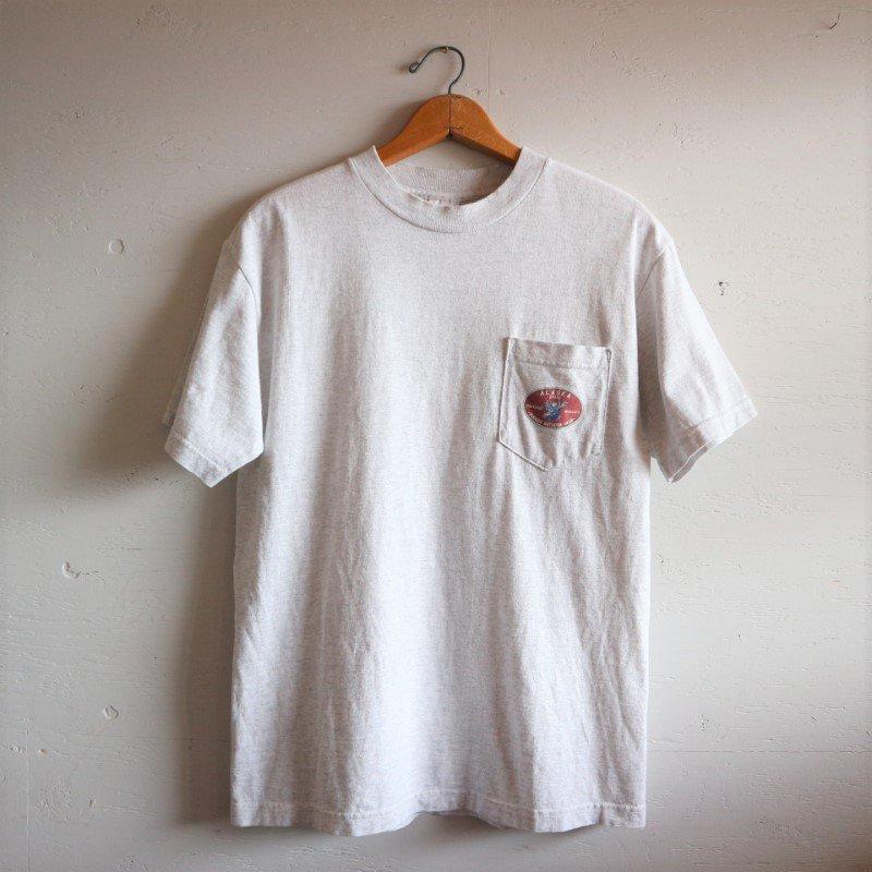 90-00's U.S.A.製 Pocket T-shirt アラスカ ポケT M