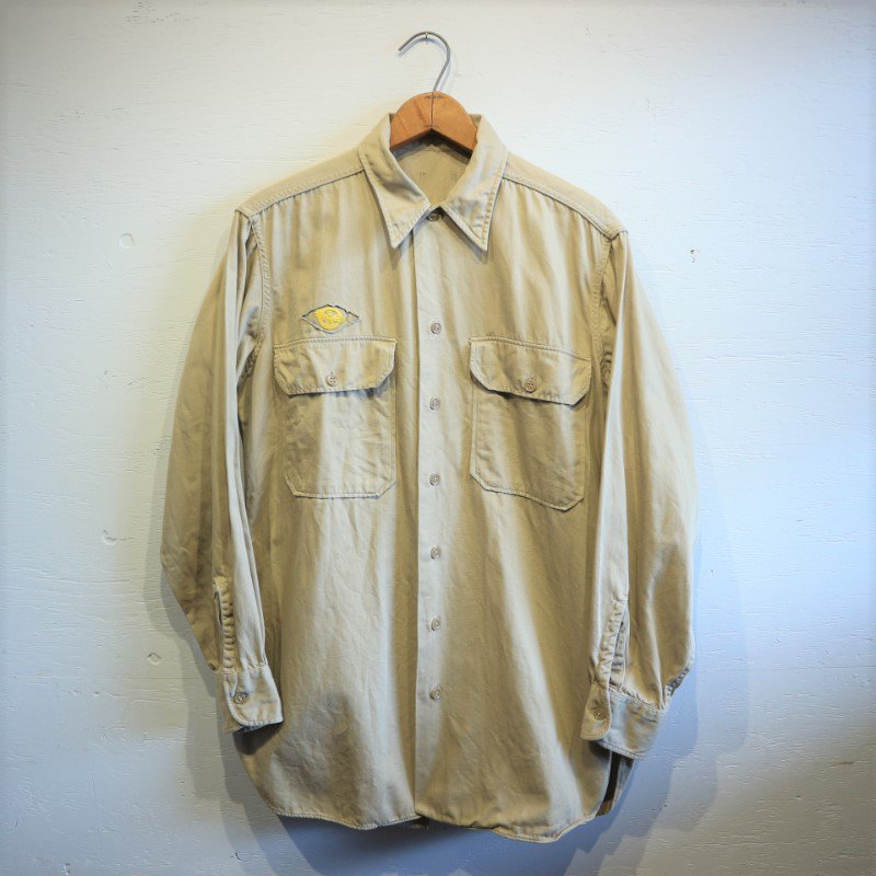 40's WW� U.S.Military Vintage KHAKI SHIRT