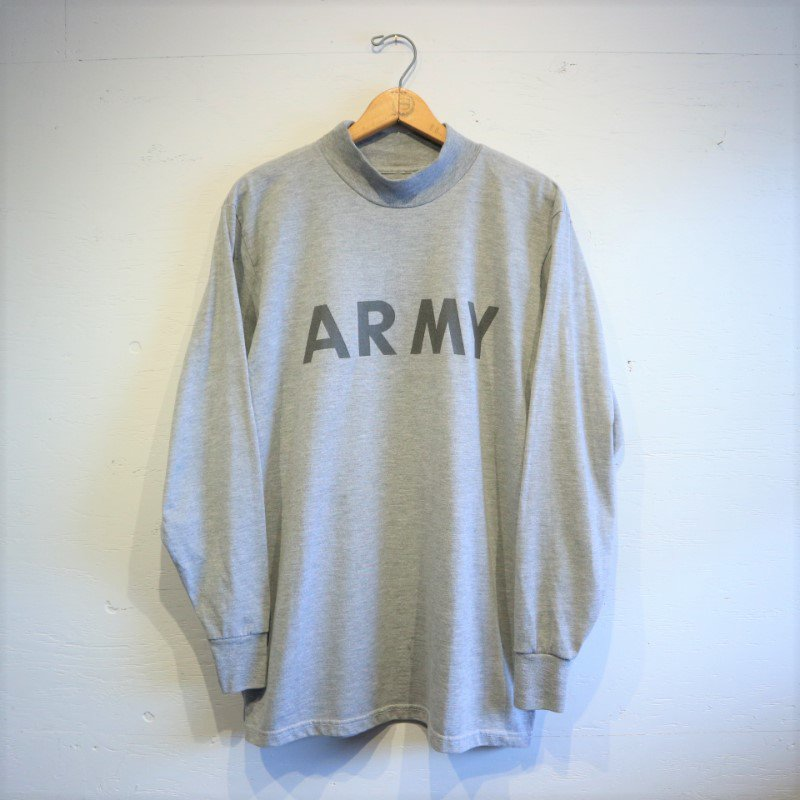 U.S.Military ARMY T-shirt モックネック アーミーTシャツ