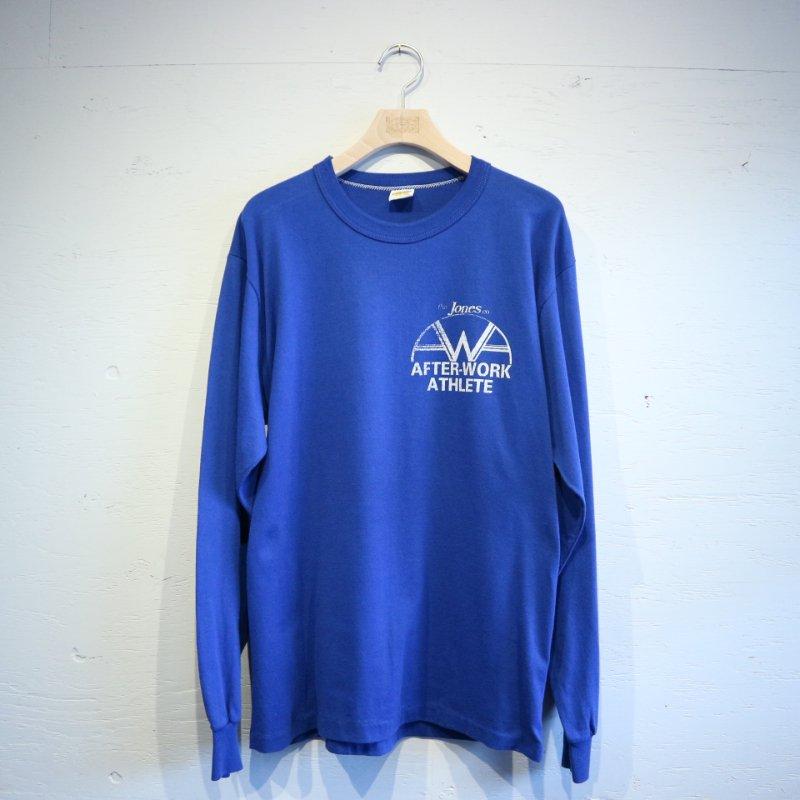 70-80's U.S.A.製 RUSSELL ATHLETIC ラッセル 金タグ ロングスリーブTシャツ M