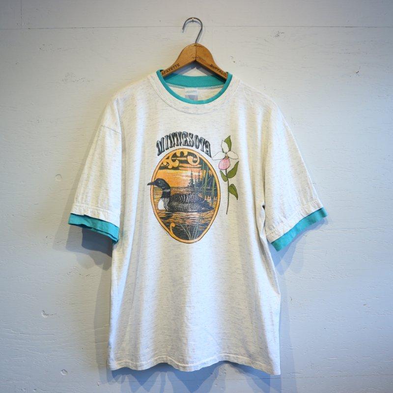 80's U.S.A.製 Alore Layered T-shirt アローレ レイヤードTシャツ