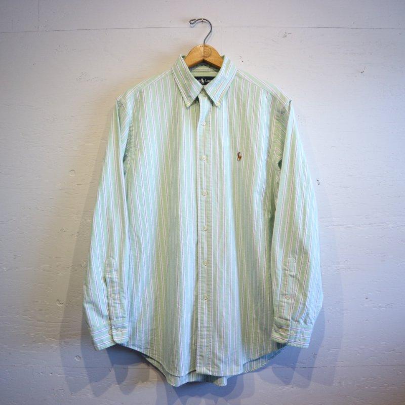 Ralph Lauren ラルフローレン B/D オックス ストライプシャツ 15Half