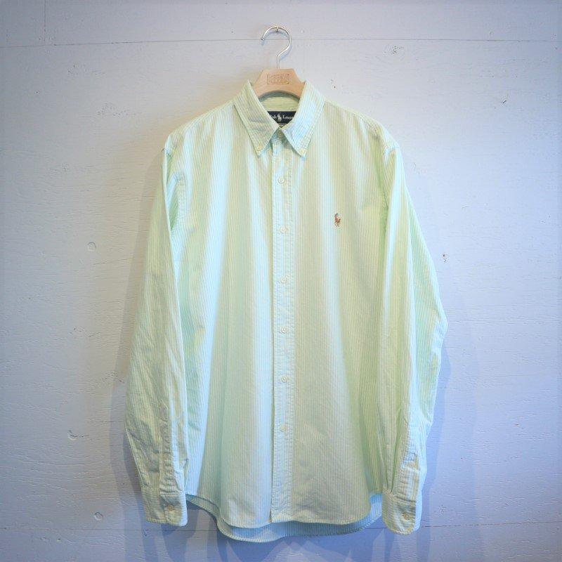 Ralph Lauren ラルフローレン B/D オックス ストライプシャツ M