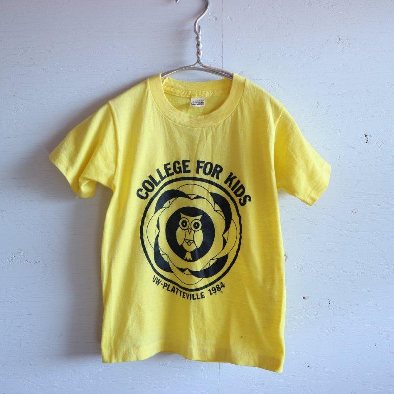 80's U.S.A.製 SCREEN STARS スクリーンスターズ カレッジTシャツ KIDS 10-12