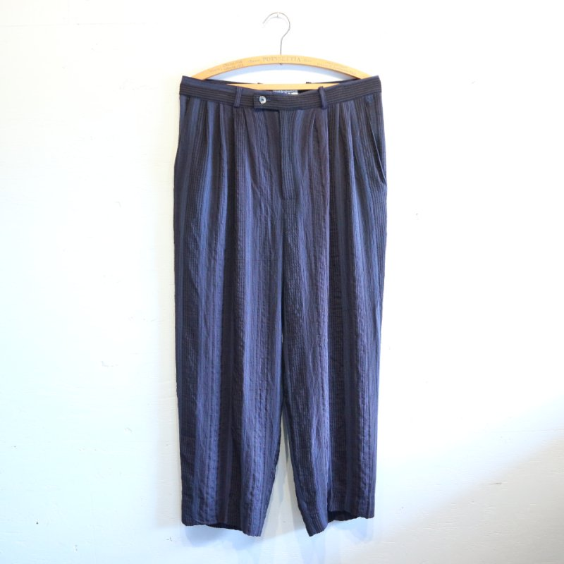 <img class='new_mark_img1' src='https://img.shop-pro.jp/img/new/icons1.gif' style='border:none;display:inline;margin:0px;padding:0px;width:auto;' />U.S.A. Vintage RAYON Trousers 4タック レーヨンパンツ w32