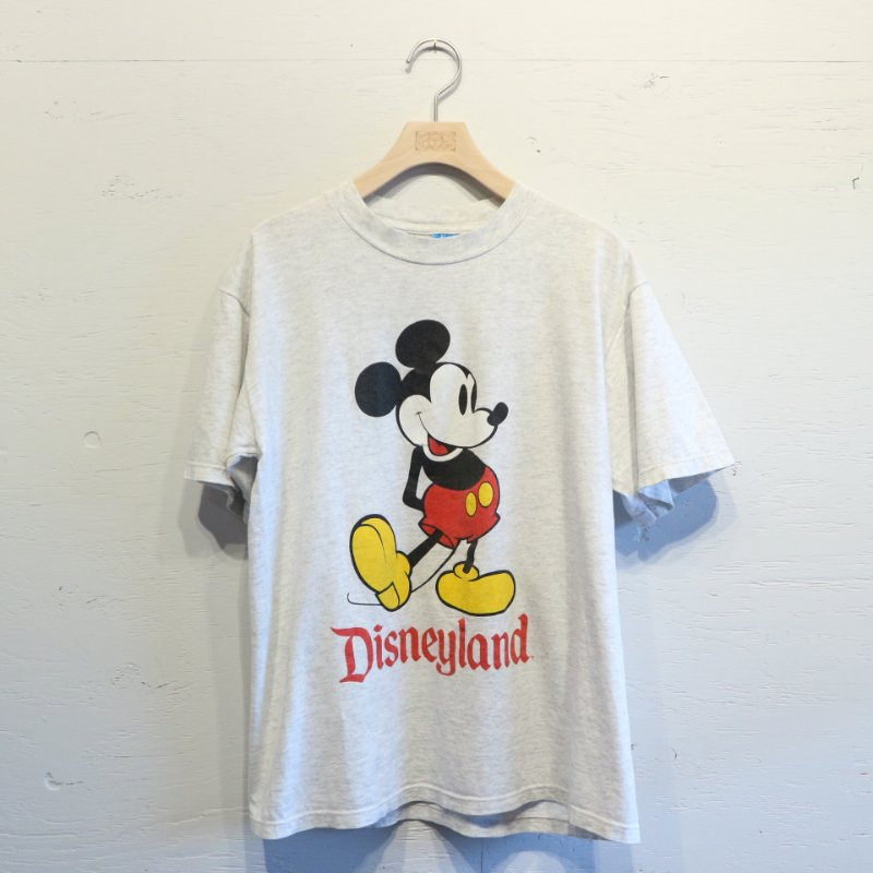 80's U.S.A. DISNEY OFFICIAL MICKEY T-shirt ミッキーTシャツ M