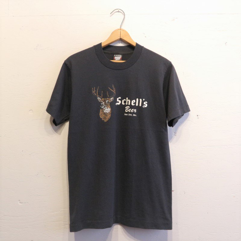90's U.S.A. SCREEN STARS Schell's Brewery ビアーTシャツ M