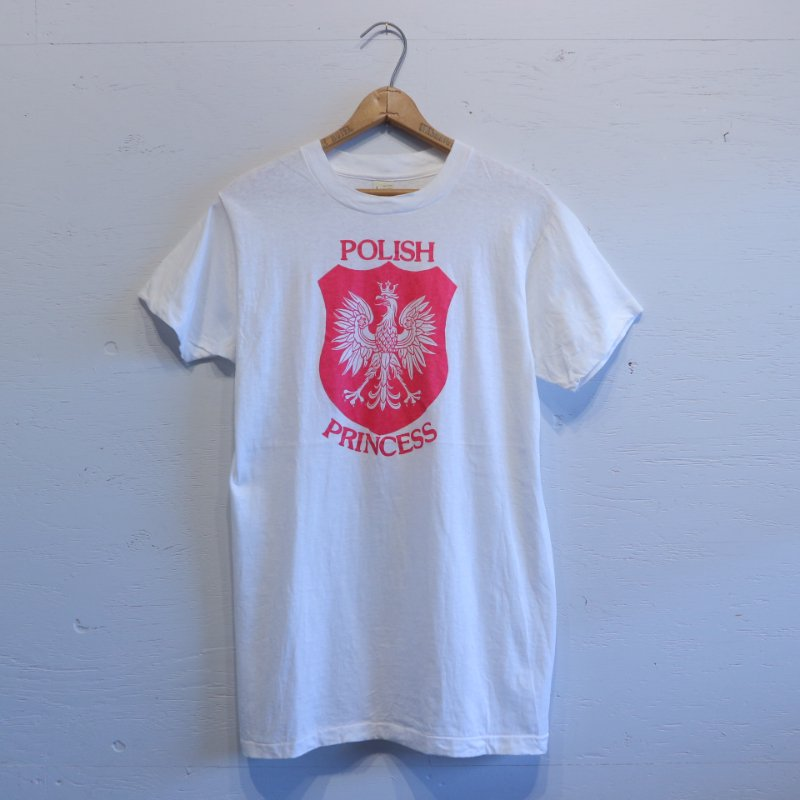 80's U.S.A. SCREEN STARS POLISH PRINCESS スクリーンスターズ Tシャツ L
