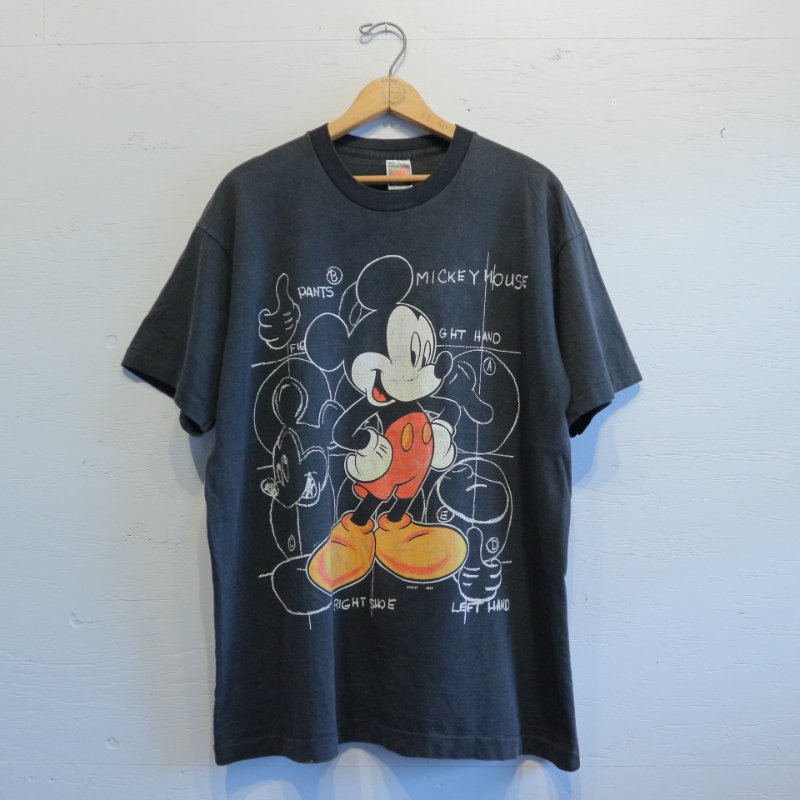 90's U.S.A. MICKEY UNLIMITED ミッキーTシャツ ONE SIZE