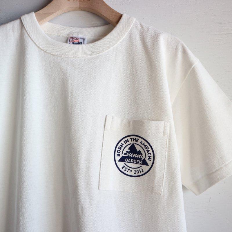 9th Anniversary Sunny Garden ポケットTシャツ col.ナチュラル