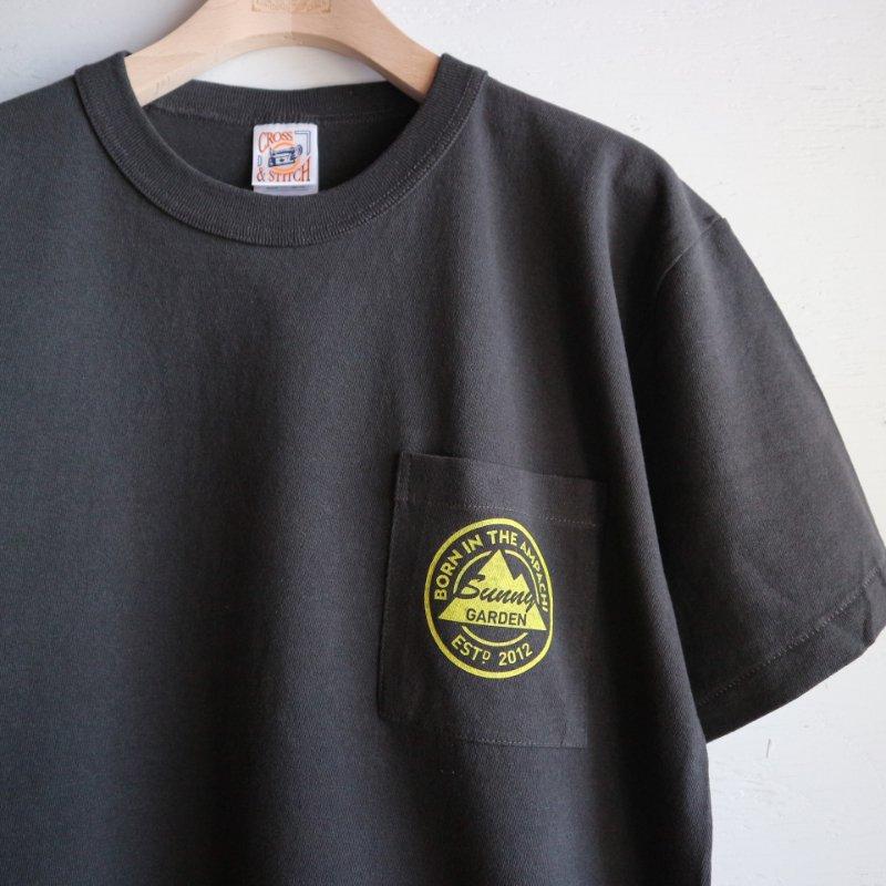 9th Anniversary Sunny Garden ポケットTシャツ col.スミクロ