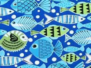 魚群 ブルー