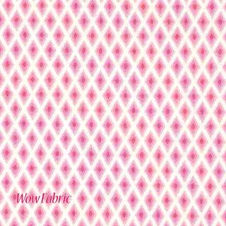 ダイヤチェック ピンク