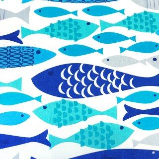 北欧風の魚柄