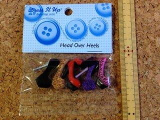 ボタンセット Head Over Heels