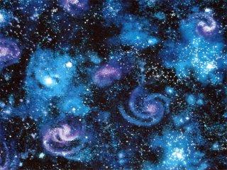 宇宙柄 -銀河- パープル