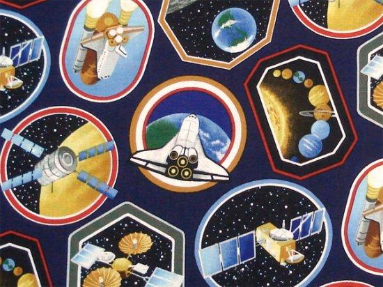 人工衛星・スペースシャトル ネイビー