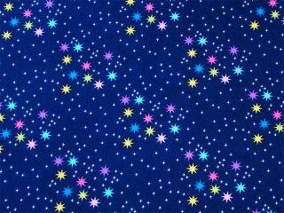 キラキラ星 ネイビー