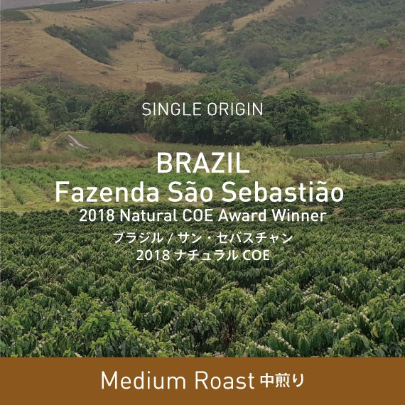 ブラジル / サン・セバスチャン2018ナチュラルCOE
