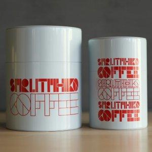 オリジナルコーヒー茶筒 小(150g)/大(225g)