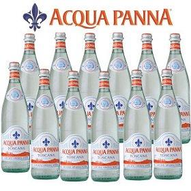 アクアパンナ ナチュラル ミネラルウォーター 瓶750ml×12本入 正規輸入品