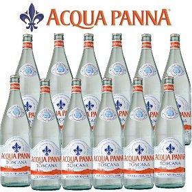 アクアパンナ ナチュラル ミネラルウォーター 瓶1000ml×12本入 正規輸入品