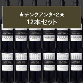 送料無料 コレッツィオーネ チンクアンタ +4 フルボディ 赤ワイン 12本セット