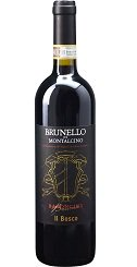 ブルネッロ ディ モンタルチーノ イル ボスコ 2012 フルボディ 赤ワイン