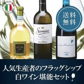 送料無料 人気生産者のフラッグシップ白ワイン堪能セット