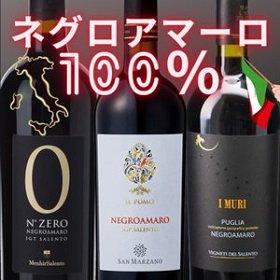 ネグロアマーロ 100% イタリア プーリア 赤ワインセット 飲み比べ